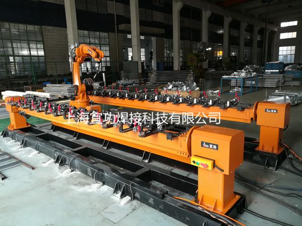 焊接机qi人客huxianchang