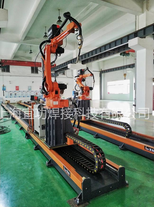 焊接ji器人kehuxian场